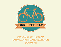 Bali Car Free Day Infographic
