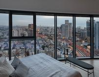 Assaf Pinchuk: Sky Apartment in Tel Aviv