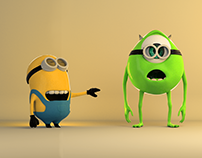 Minion and Mike