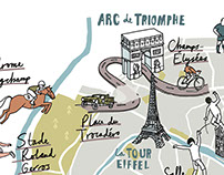 Populous Magazine Paris Map