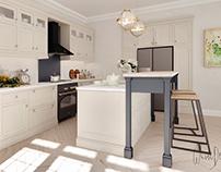 """""""Balea"""" -kitchen design"""