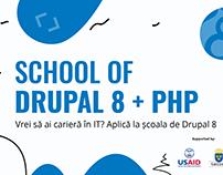 School of Drupal 8 + PHP