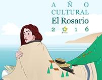 Cartel Año cultural El Rosario 2016