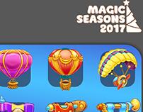 Magic Seasons 2017 Christmas Mystery 2018
