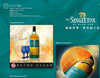 Singleton Single Malt Whiskey Social Media Post
