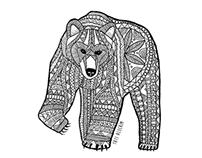 The pattern bear
