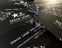 Business Card and Logo design - Stevie Leigh