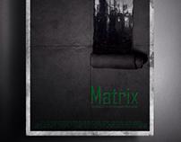 """Afiche publicitario-Película """"Matrix"""" (UADE 2015)"""