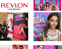 Stands Revlon & No estoy Loca Movie