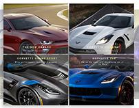 Chevrolet Showcase Webdesign