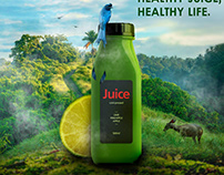 JUICE AD/ MANIPULATION WORK
