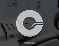 Monogram for a dentist   Logo Design