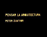 Teoría U. I. Intervención - Pensar la Arquitectura