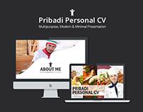 Pribadi - Personal CV (Multipurpose)