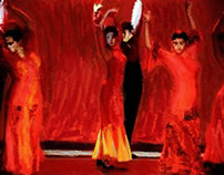 Spanish Dance Troupe.