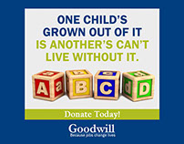 Seattle Goodwill Donate Now Campaign