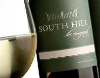 South Hill Branding & Wine Labels