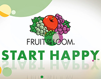 "Fruit of the Loom ""Start Happy"""