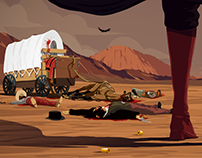 2D Western Animation