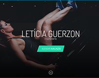 Letícia Guerzoni - WebSite