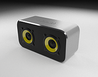 Bluetooth speaker render