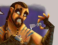 Collab-Khal Drogo