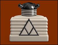 Miami Perfume Bottle Design