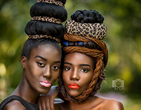 African Hair Style Portrait Portfolio Photography