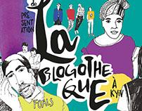 LA BLOGOTHEQUE | poster