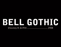 Libro Bell Gothic
