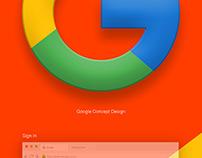 Google Design Concept