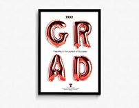 Poster Design | TTU Graduation TRIO