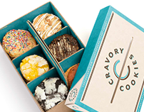 Cravory Cookies Branding & Packaging