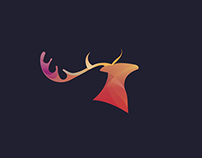 Deer - Logo Animal