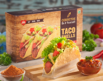 Cornitos Taco Shells Packaging Designed by LogoPeople
