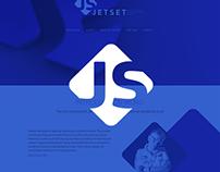 JetSet landing page