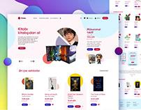 KITABCHI - eCommerce WebSite Design