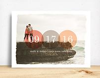 Precious Date Save the Date
