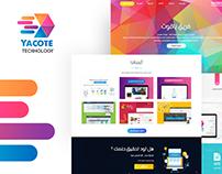 YACOTE Technology Web Design UX/UI