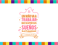 No al #TrabajoInfantil