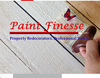 Paint Finesse Website Mockups
