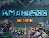 Youtube Gaming Design - KManuS88 (2017)