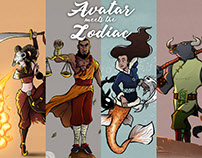 Avatar meets the Zodiac (Character creation)