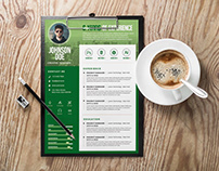 Free A4 CV/Resume Template