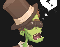 I Can See Clearly Now My Brain Has Gone - (Zombies)