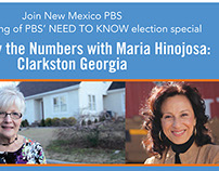 Maria Hinojosa Event Flyer