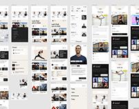 Zezam.io - Fitness app design