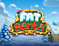 Fat Santa - Game Art