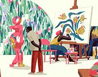 Art for Waitrose Weekend