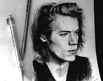 Harry Styles Portrait